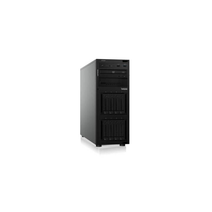 LENOVO ThinkSystem ST250 (Intel Xeon E-2124, 8 GB, 0 GB SSD, 0 GB HDD)