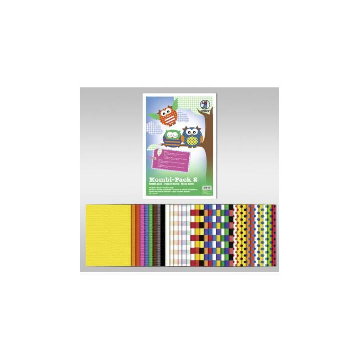 URSUS Combi-Pack papier 2, A4, 40 feuilles
