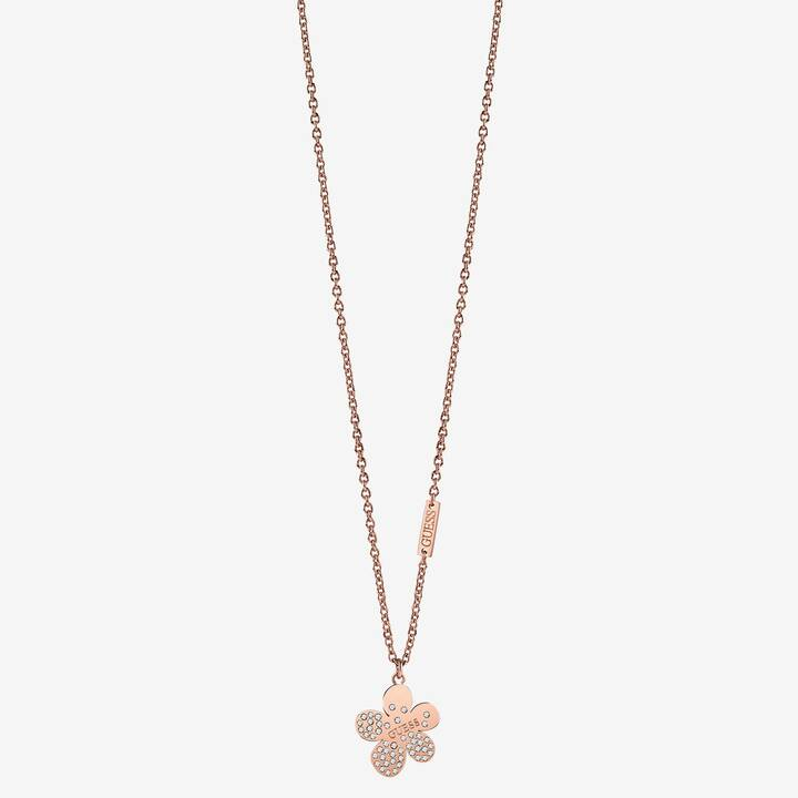 GUESS Flower Garden Halskette (45 cm)