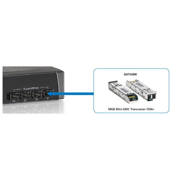 LEVELONE Modulo SFP GVT-0300 (0.125 GB/s, Multimode)
