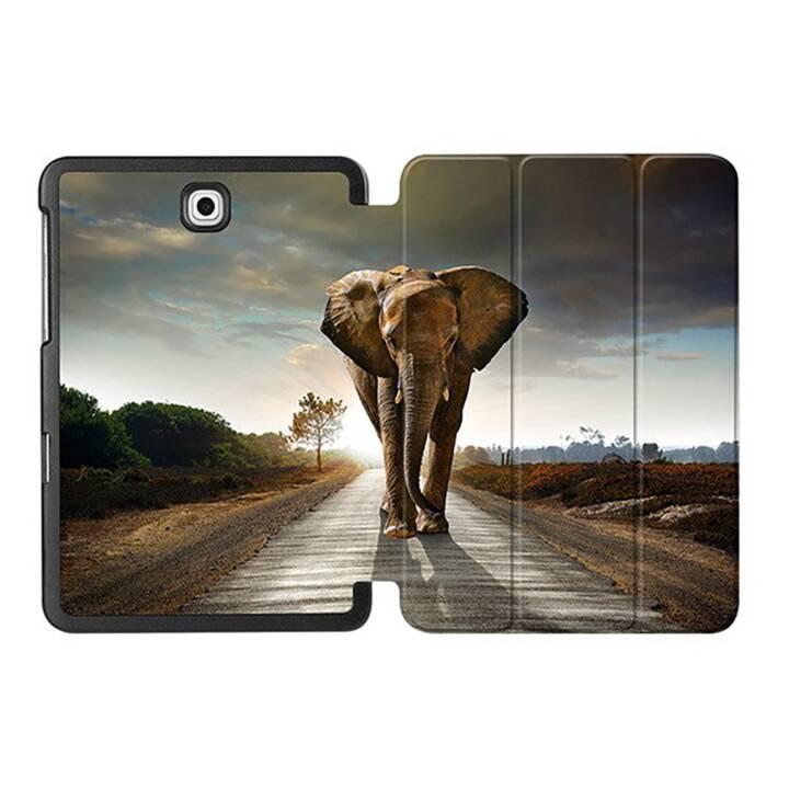 "EG MTT Coque Tablette pour Samsung Galaxy Tab S2 8"" - Elephant"