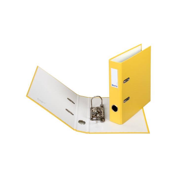 BIELLA plieuse 4cm A5 jaune