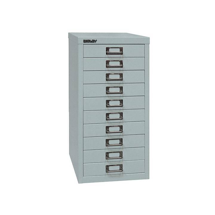 BISLEY MultiDrawer Box de tiroirs (A4, Argent)