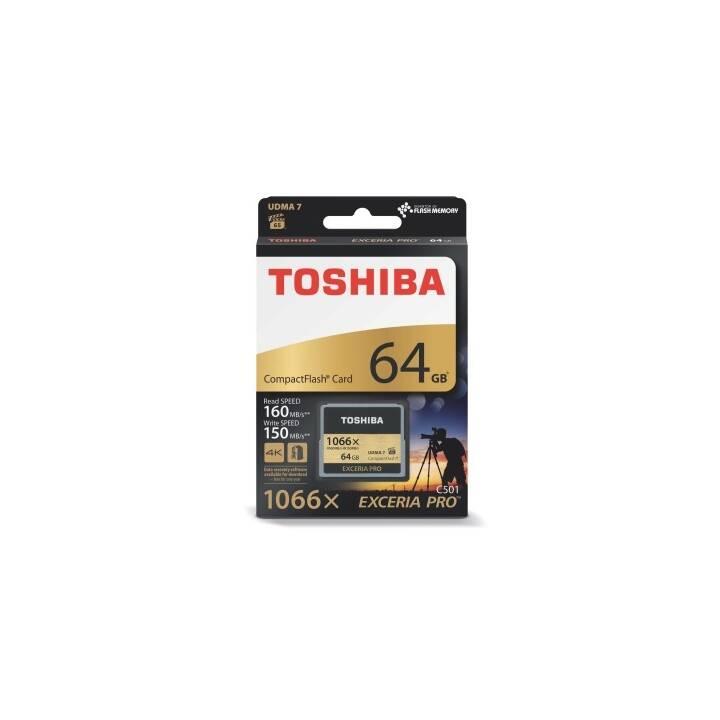 TOSHIBA Compact Flash Exceria Pro C501 (64 GB, 160 MB/s)