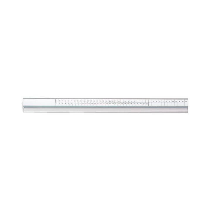 BIELLA Cartelle sospese e accessori 1-31 A-Z (Bianco, 50 pezzo)