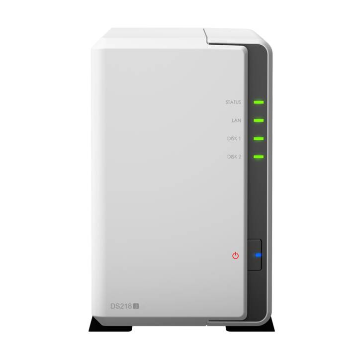 SYNOLOGY DS218j Seagate IronWolf 2 baies, 8 To