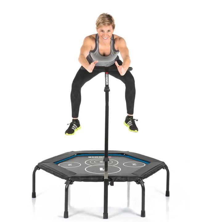 HAMMER Fitnesstrampolin Cross Jump (13 kg)