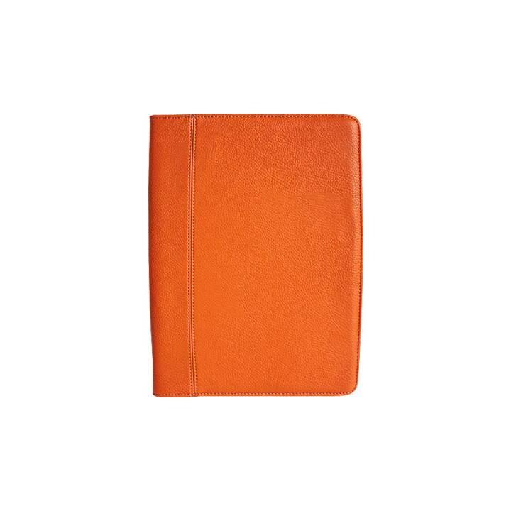 BÜROLINE Fancy writing case A4 arancione