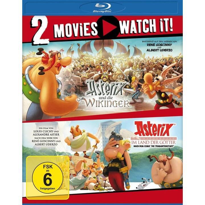 Asterix und die Wikinger / Asterix im Land der Götter (DE)