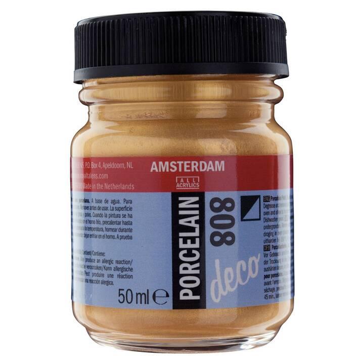 AMSTERDAM Bastelfarbe (50 ml, Gold)