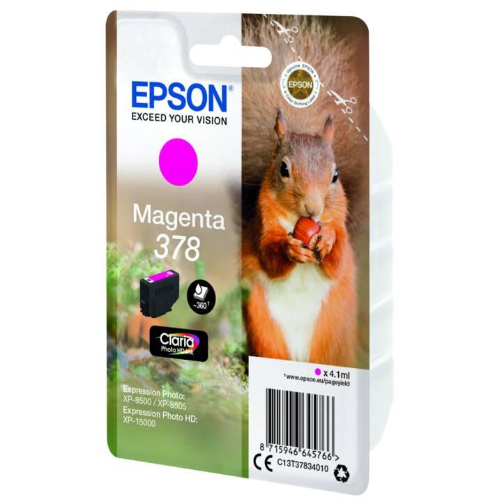EPSON cartouche simple 378 Magenta