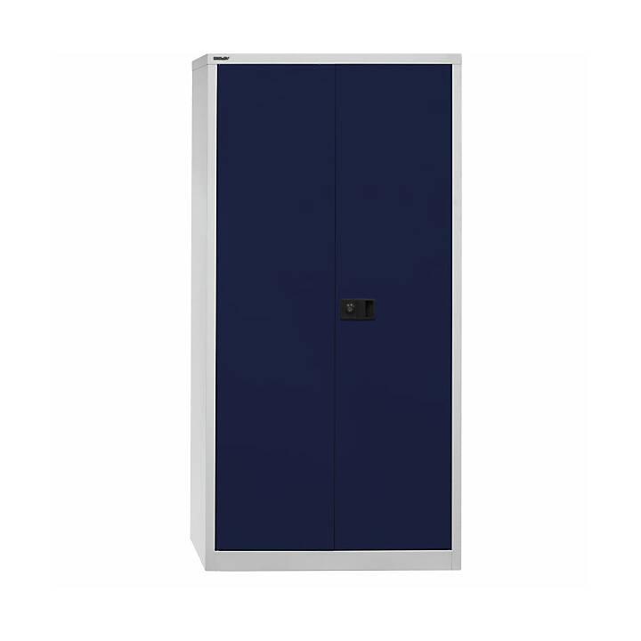 BISLEY Universal Büroschrank (Blau, Weiss)