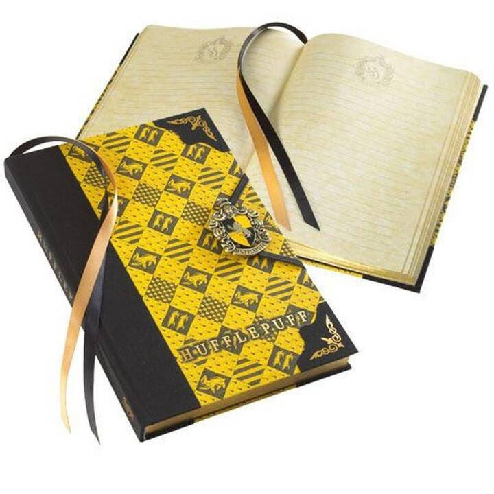 NOBLE COLLECTION Carnets Harry Potter Huffelpuff (Ligné)