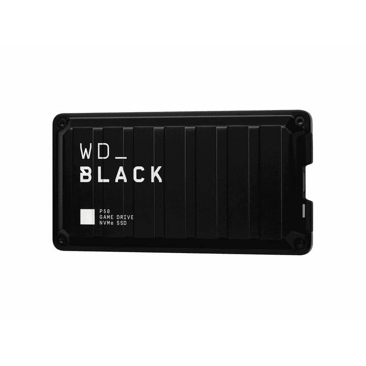 WD_BLACK P50 (USB Type C, 500 GB, Noir)