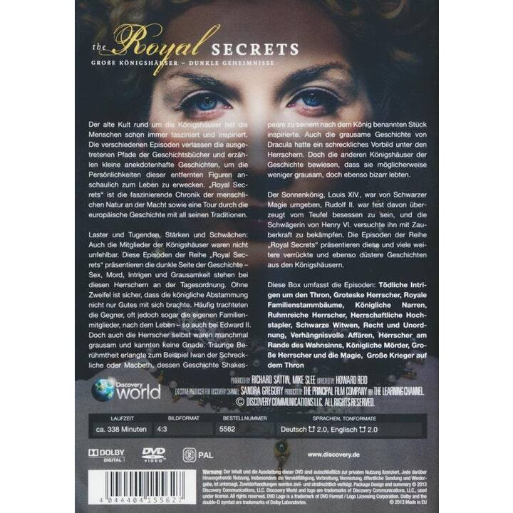The Royal Secrets - Discovery Travel & Living (DE, EN)