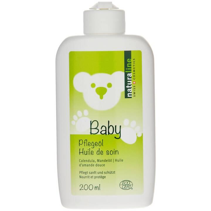 NATURALINE Huile pour bébés (Amande, 200 ml)