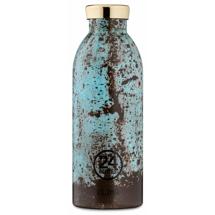 24BOTTLES Bottiglia sottovuoto Clima (0.5 l, Blu chiaro, Nero)