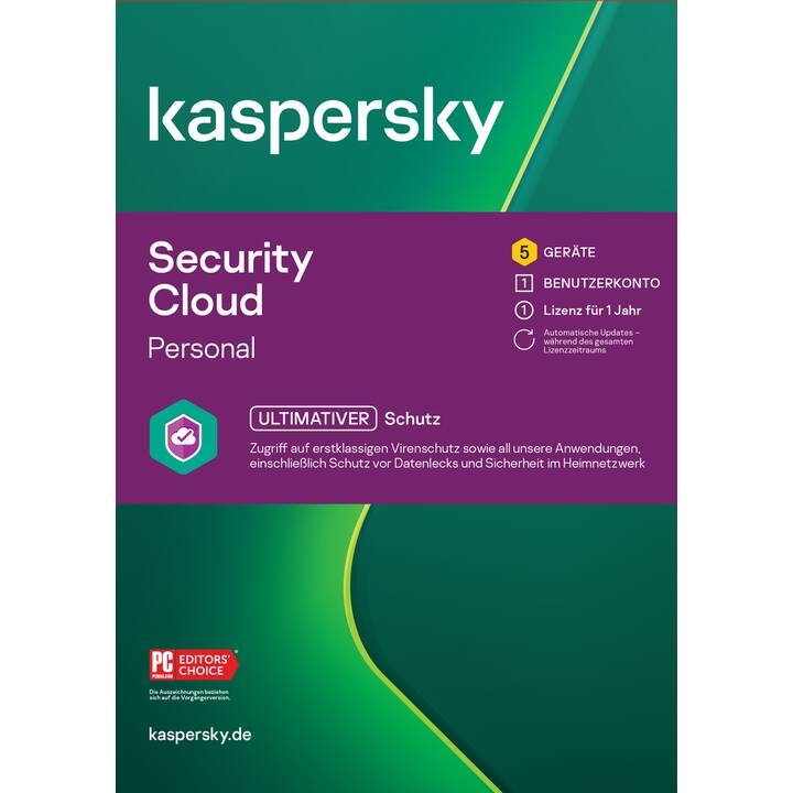 KASPERSKY LAB Security Cloud Personal (Abo, 5x, 1 Jahr, Französisch)
