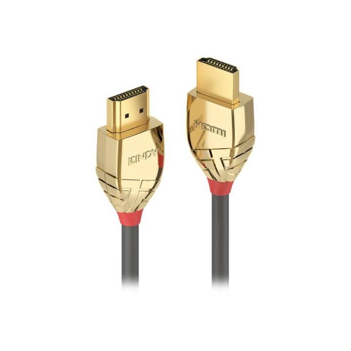LINDY Gold Line HDMI avec câble Ethernet - 7,5 m