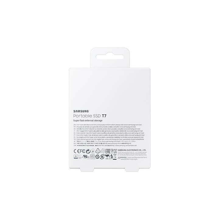 SAMSUNG Portable SSD T7 (USB Tipo C, 500 GB, Blu)