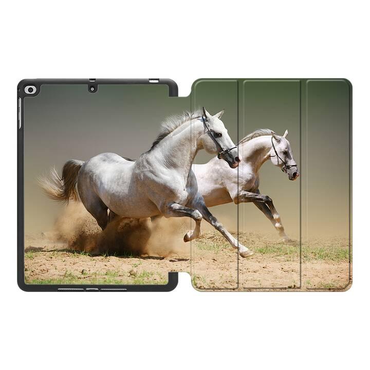 """EG MTT Hülle für Apple iPad 10.2"""" 2019 - Pferd"""