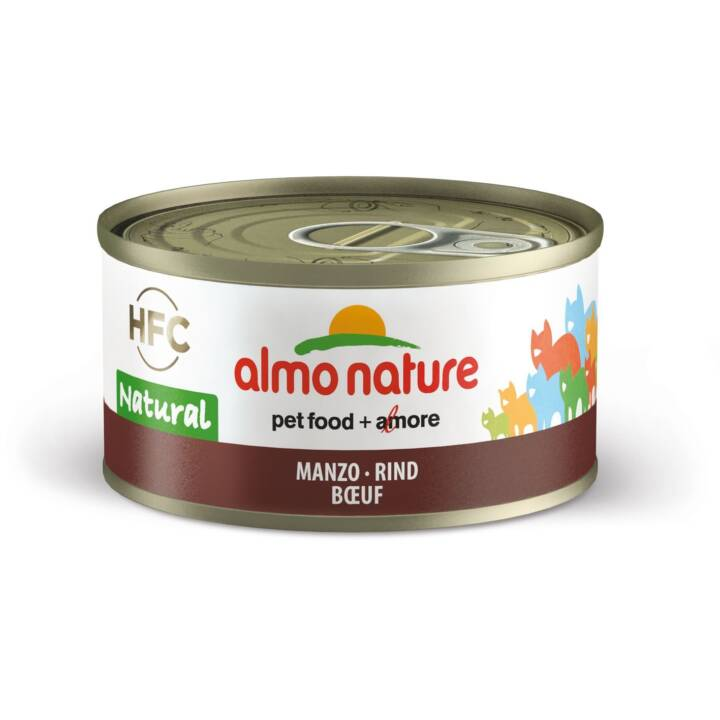 ALMO NATURE HFC Natural (Adulte, 70 g, Bœuf)