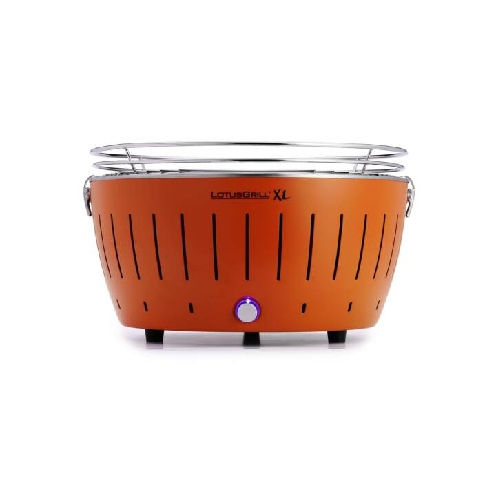 LOTUSGRILL XL Gril à charbon de bois (Orange)