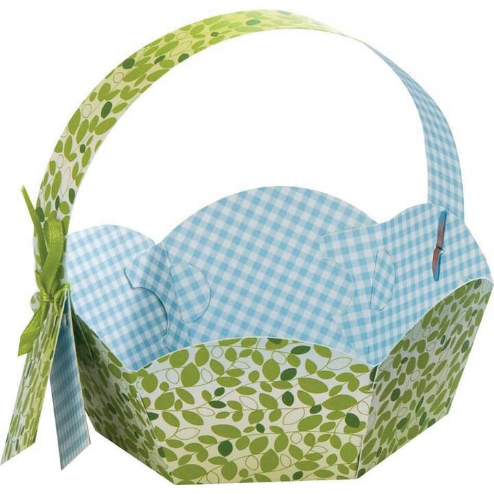 FOLIA Nid de Pâques (Vert, Bleu, Rose, 24 pièce)