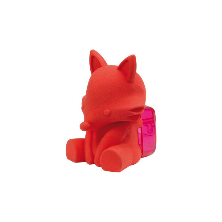 WESTCOTT Temperamatite 3D volpe (Rosso)