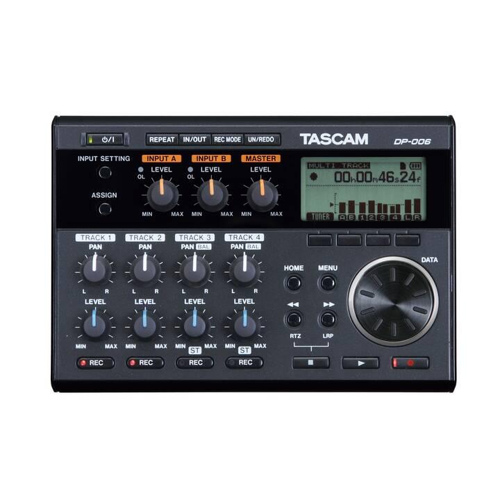 TASCAM DP-006 (Nero)