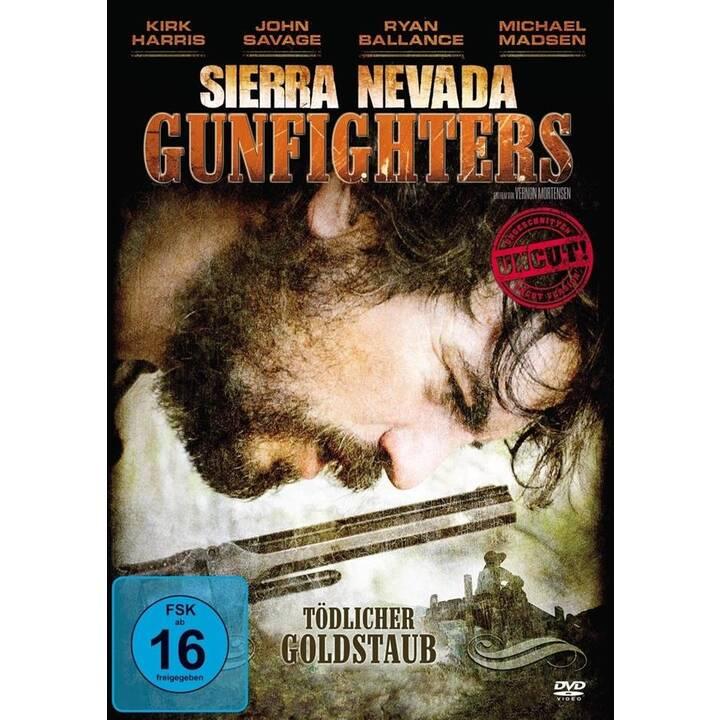 Sierra Nevada Gunfighters - Tödlicher Goldstaub (DE, EN)
