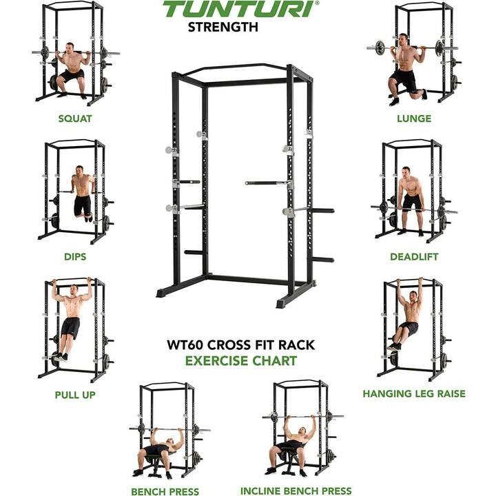 TUNTURI Cross Fit Rack WT60