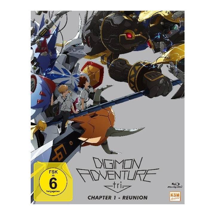 Digimon Adventure Tri - Chapter 1 - Reunion (JA, DE)