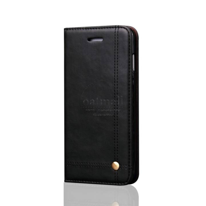 EG Flipcover per iPhone 8 Plus Nero