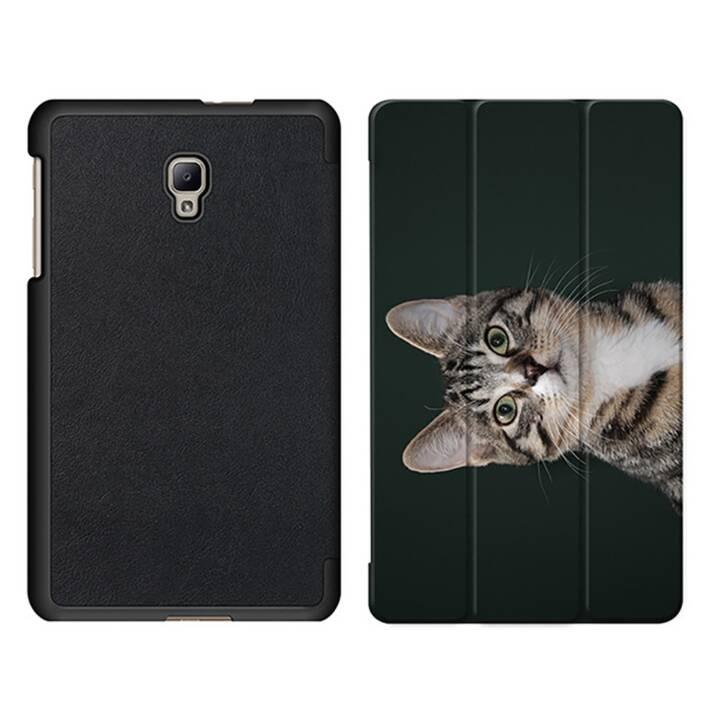 "EG MTT Tablet Bag con coperchio Smart pieghevole per Samsung Galaxy Tab A 8"" (2017) - Cat Tablet"