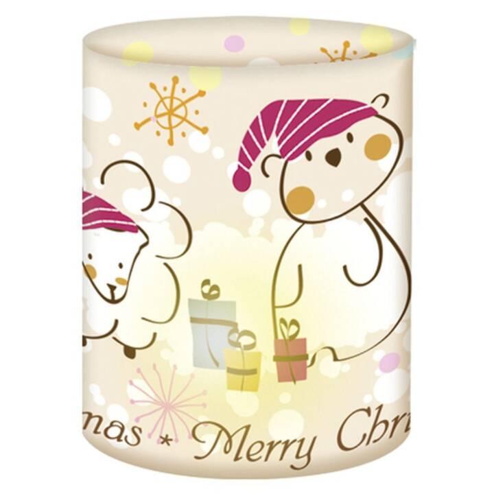 URSUS Weihnachtswindlichter Weihnchtsbär mini
