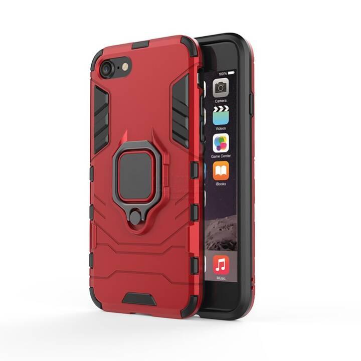 """EG Mornrise custodia con anello in metallo per Apple iPhone SE 4.7"""" 2020 - rosso"""