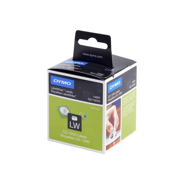 DYMO CD/DVD Etiketten (57 mm)