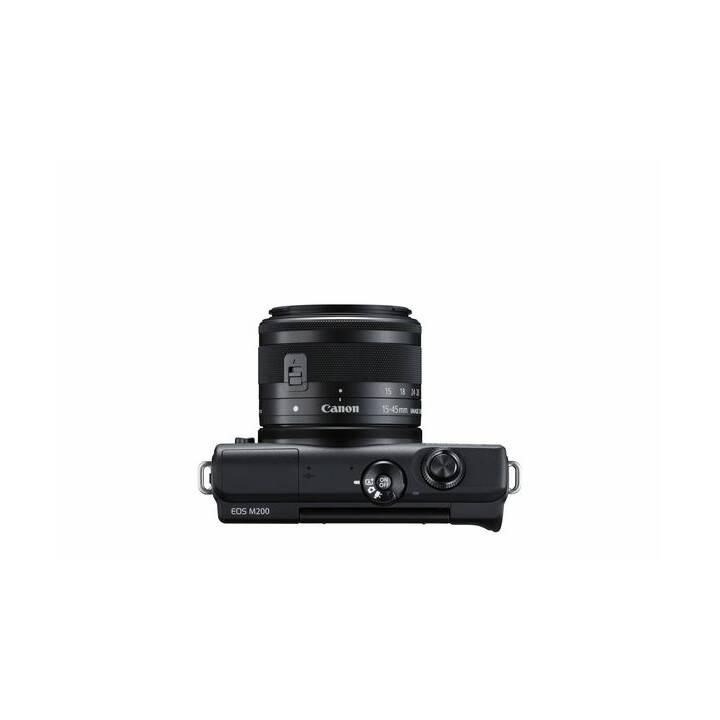 CANON EOS M200 Black incl. EF-M 15-45mm Kit (24.1 MP, WLAN)