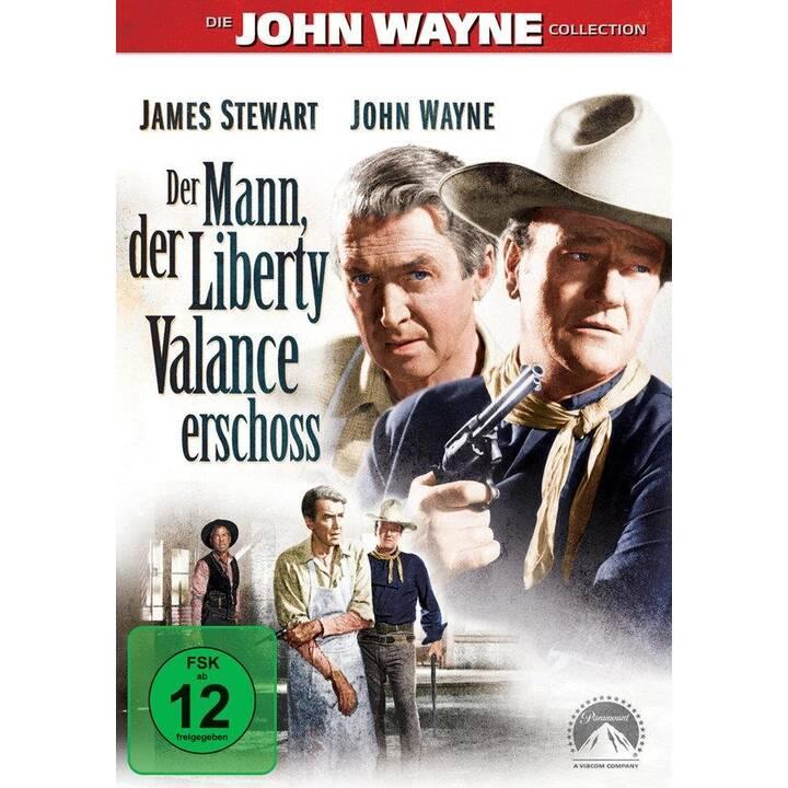 Der Mann der Liberty Valance erschoss (ES, IT, DE, EN, FR)