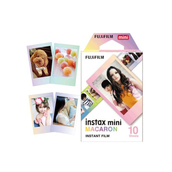 FUJIFILM Macaron (Instax Mini, Multicolore)
