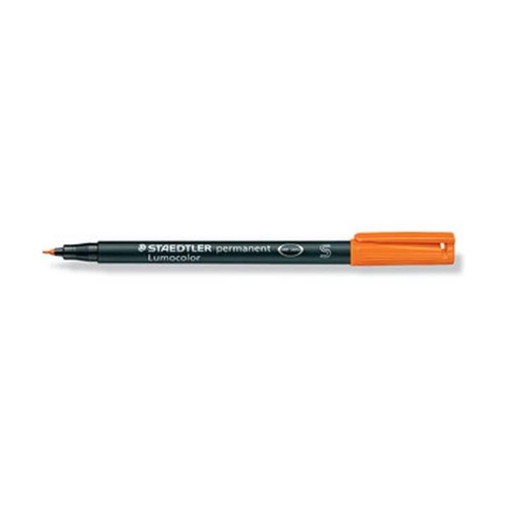 STAEDTLER Marqueur permanent Lumocolor, 0.4 mm, orange