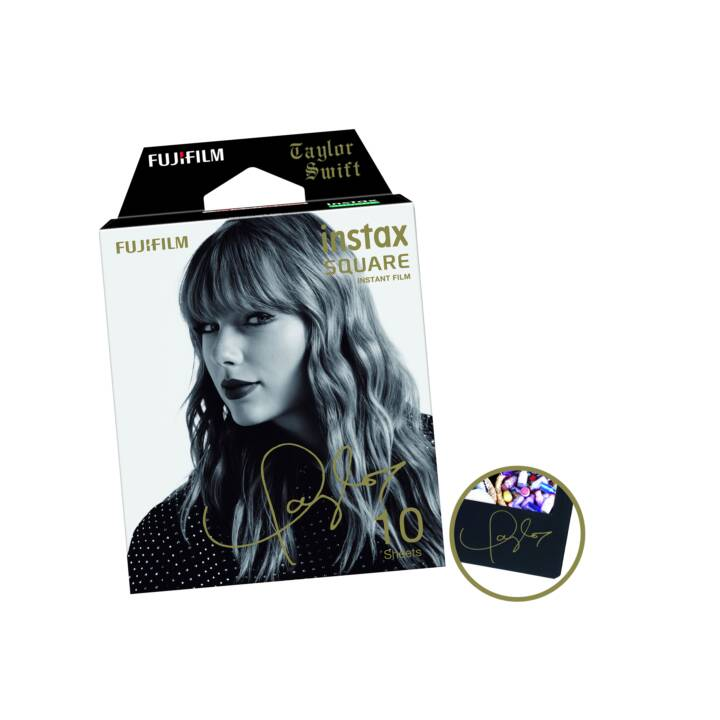 FUJIFILM Instax Square Taylor Swift Pellicule instantané (Instax Square, 10x)