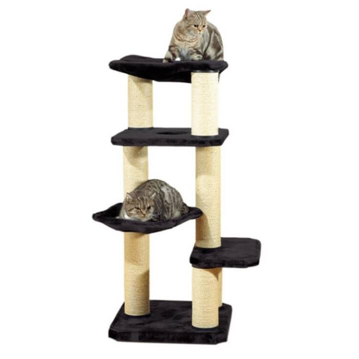 SWISSPET Arbre à chat Anita (Noir, Beige)