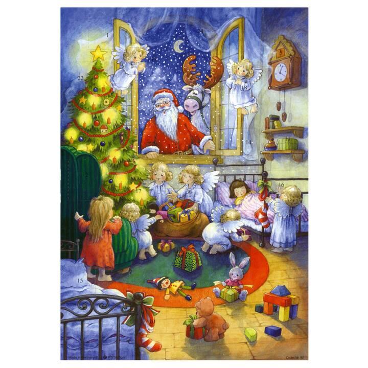 SELLMER Calendari dell'avvento di illustrazione Nikolaus am Fenster (29.7 cm x 21 cm)
