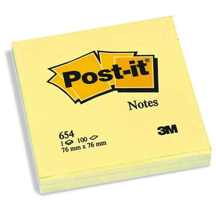 Appunti 3M Post-it 7,6 x 7,6 x 7,6 cm Giallo