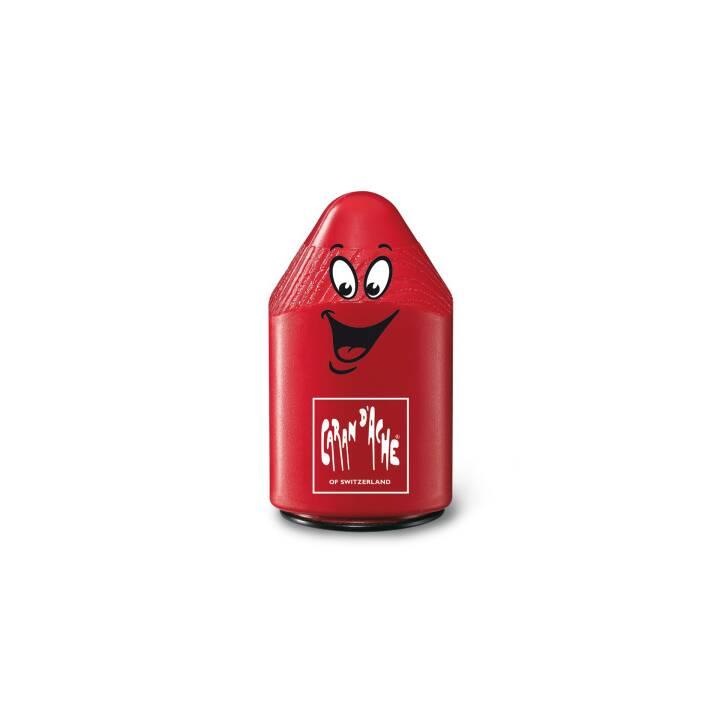 CARAN D'ACHE double aiguiseur plastique rouge