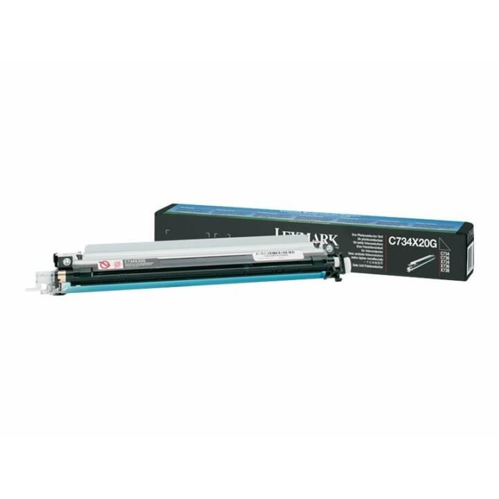 LEXMARK C734X20G Druckerbildeinheit (20000 Seiten)