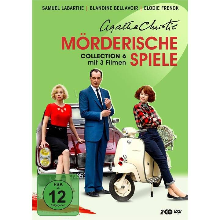 Agatha Christie - Mörderische Spiele - Collection 6 (FR, DE)