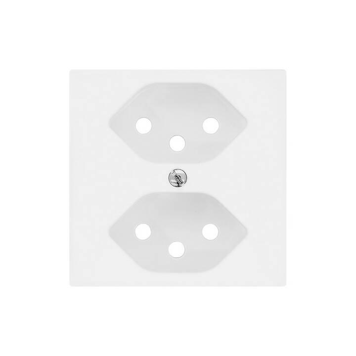 EDIZIO Interrupteurs/Prises Set für 2 x T13 IP20 (1 pièce)